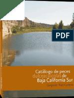 Gorgonio Ruiz-Campos Catlogo de Peces Dulceacucolas de Baja California Sur