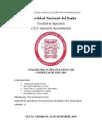 INFORME P04 Análisis de Conservas de Pescado 1