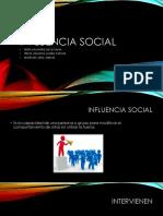 Influencia Social