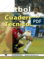 Fútbol cuadernos técnicos N° 36