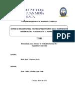 Informe de Tesis Peru