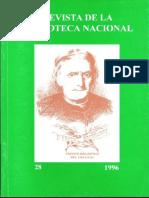 REVISTA DE LA BIBLIOTECA NACIONAL  - REPUBLICA ORIENTAL DE URUGUAY
