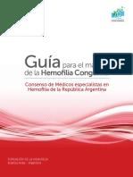 Guia hemofilia