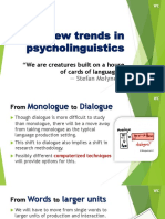 New trends in psycholinguistics.pptx