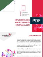 Presentacion Nuevo diseño web