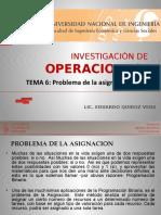 Tema 7 - Problema de La Asignacion