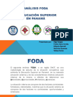 FODA FINAL Educación Superior en Panamá