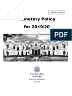 Monetary Policy (in English)--2019-20 (Full Text)-New