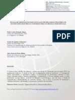 Escala de Orientação Para Inovação Em Organizações Públicas