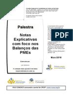 Notas Explicativas PMEs Levi 22 05