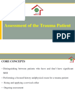 3. Assessment of the Trauma Patient