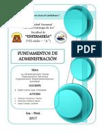 La Organización Trabajo Para Imprimir (2)