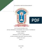 Informe de Laboratorio (Quimica Coloreada Del Cobre)