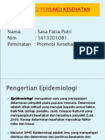 Epidemiologi Perilaku Fix