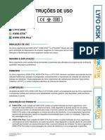 Portuguese Latin America LYFO DISK KWIK-STIK KWIK-STIK Plus Instructions
