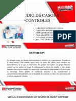 Presentacion Estudios y Casos Epidemiologicos