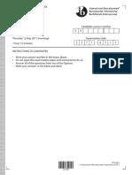Physics Paper 3 TZ2 HL