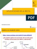 PPT 12-Aplicaciones de La Recta-COMMA 2019 2