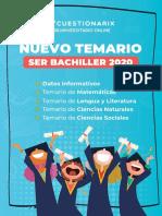 Temario Ser Bachiller 2020