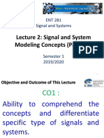 Lecture 3 - Signal and System Modeling Concepts Part 2