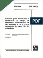 NB 58005-2007 - Criterios para determinar la resistencia al Fuego1.pdf