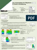 Etude Statique Et Dynamique de l'Equinoxe - ZAC