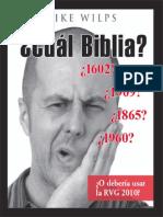 Cual Biblia