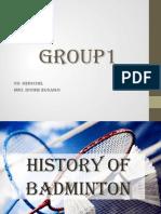 History of Badminton