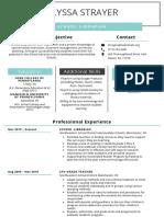 my new resume