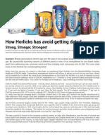 horlicks case study