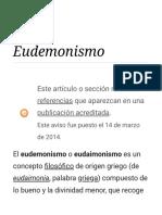 Eudemonismo - Wikipedia, La Enciclopedia Libre