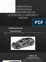 Carrocerias, Condiciones Antropometricas, Autobuses, Camiones Expo