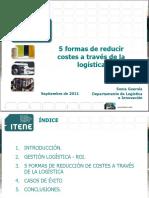 5 formas de reducir costes a través de la logística