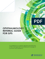 E-book Ophthalmology Referral Guide for GPs