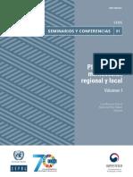 Planificación Multiescalar Regional y Local