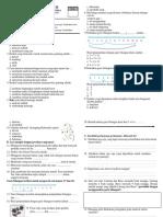 Evaluasi Tema 2 Subtema 3