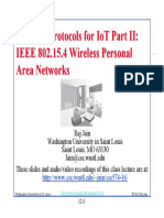 Wireless Protocols for IoT_IEEE 802.15.4