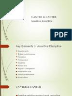 Canter & Canter -Assertive Discipline