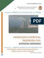 Avenidas Máximas - Hidrología superficial