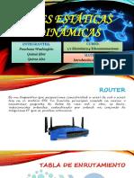 Redes Estáticas y Dinámicas