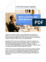 What is Pay Per Click Advertising Campaign