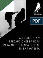 Seguridad Digital en Protesta