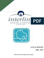 Interlink Housing 2006 2007 Annual Report