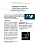 Virtual Theory of Machine Lab