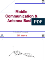 Overview of Mobile Comm and Antenna