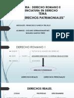 DERECHOS PATRIMONIALES