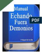 Manual Echando Fuera Demonios