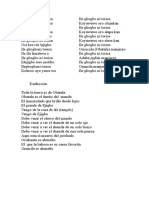 Canto de Obatala