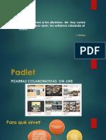 Diapositivas - Padlet