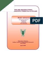 Basic_Science 30.4.2009 - Microbiology Syllabus